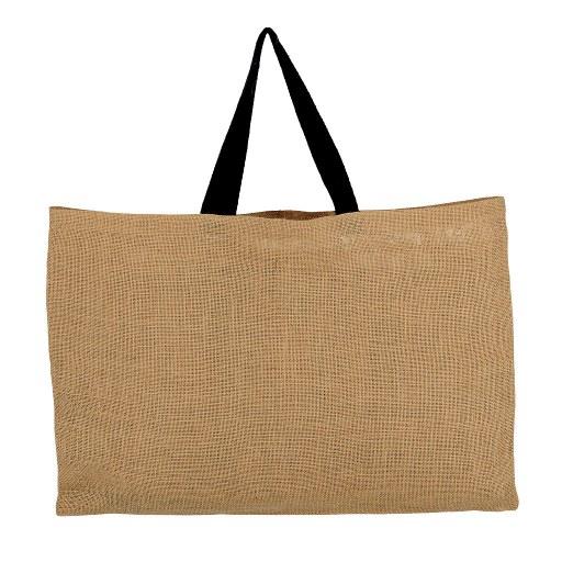 Bolsa de Yute con manilla negra 40x60 (cm)