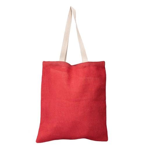 Bolsa de Yute roja 40x35 (cm)