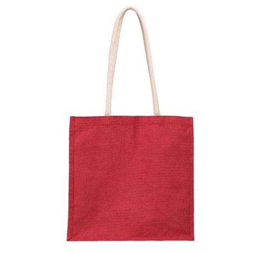 Bolsa de Yute roja 40x40x20 (cm)