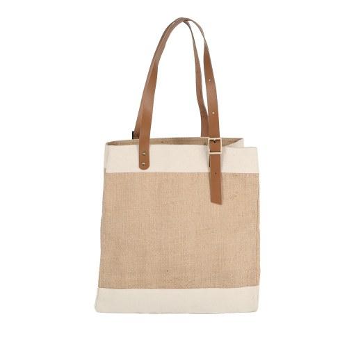 Bolsa de Uso Personal color natural 42x40x20 (cm)