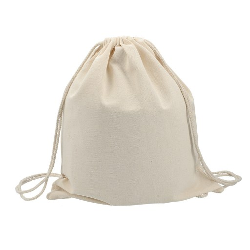 Mochila de Algodón 8 onzas tipo mochila 42x38 (cm)