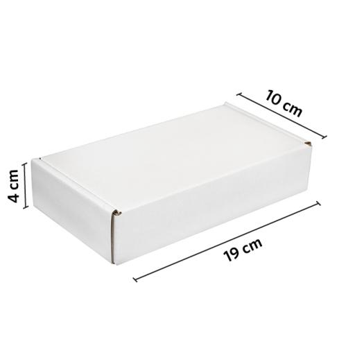 CAJA autoarmable 19x10x4 BLANCO