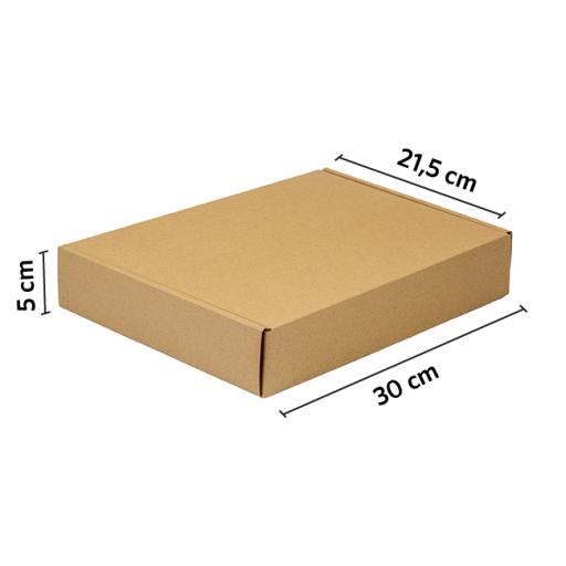 CAJA autoarmable 30x21.5x5 KRAFT