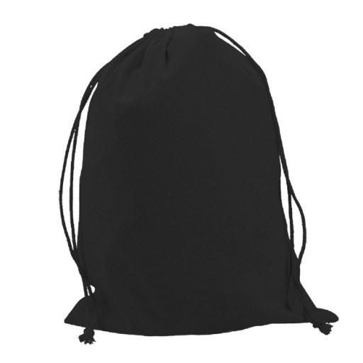 Saquito de Algodón negro 40x30 (cm)