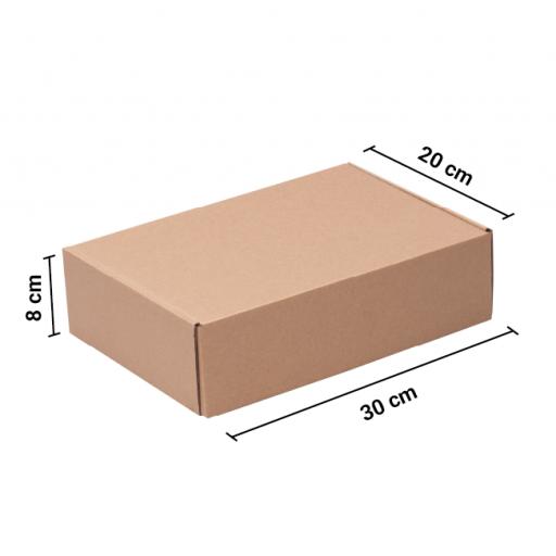 Caja autoarmable 30x20x8 KRAFT