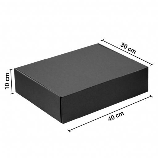 Caja Autoarmable 40x30x10 Negra