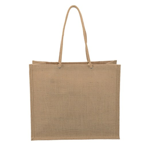 Bolsa de Yute con manilla cordón de yute 35x40x17 (cm)